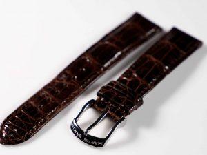 Lot #6299 – Martin Braun 20MM Alligator Strap with Martin Braun Tang Buckle Martin Braun Martin Braun Alligator Watch Strap