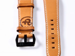 Lot #6318 – Bell & Ross 22MM Leather Strap with Bell & Ross PVD Tang Buckle Bell & Ross [tag]
