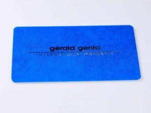 Lot #6325 – Gerald Genta Watch International Warranty Card Gerald Genta [tag]