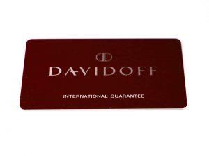 Lot #6336 – Davidoff Watch International Guarantee Warranty Card Davidoff [tag]
