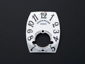 Lot #6346D – Franck Muller Imperial Tourbillon Silver Carbon Fiber Dial Watch Part Franck Muller Franck Muller Imperial Tourbillon Dial