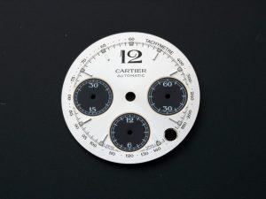 Lot #6346E – Cartier Pasha Chronograph Panda Dial W31048M7 Watch Part Cartier Cartier Chronograph Dial