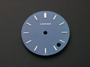 Lot #6346G – Cartier 35MM Pasha C Blue Dial Watch Part Cartier Cartier Pasha C 35mm Dial