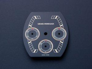 Lot #6346H – Girard Perregaux Chronograph Black Dial Watch Part Girard Perregaux Girard Perregaux Chronograph Dial
