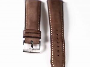 Lot #6364 – Omega Dynamic Targa Florio Leather Strap With Tang Buckle 94511602 20mm Straps Omega 94511602