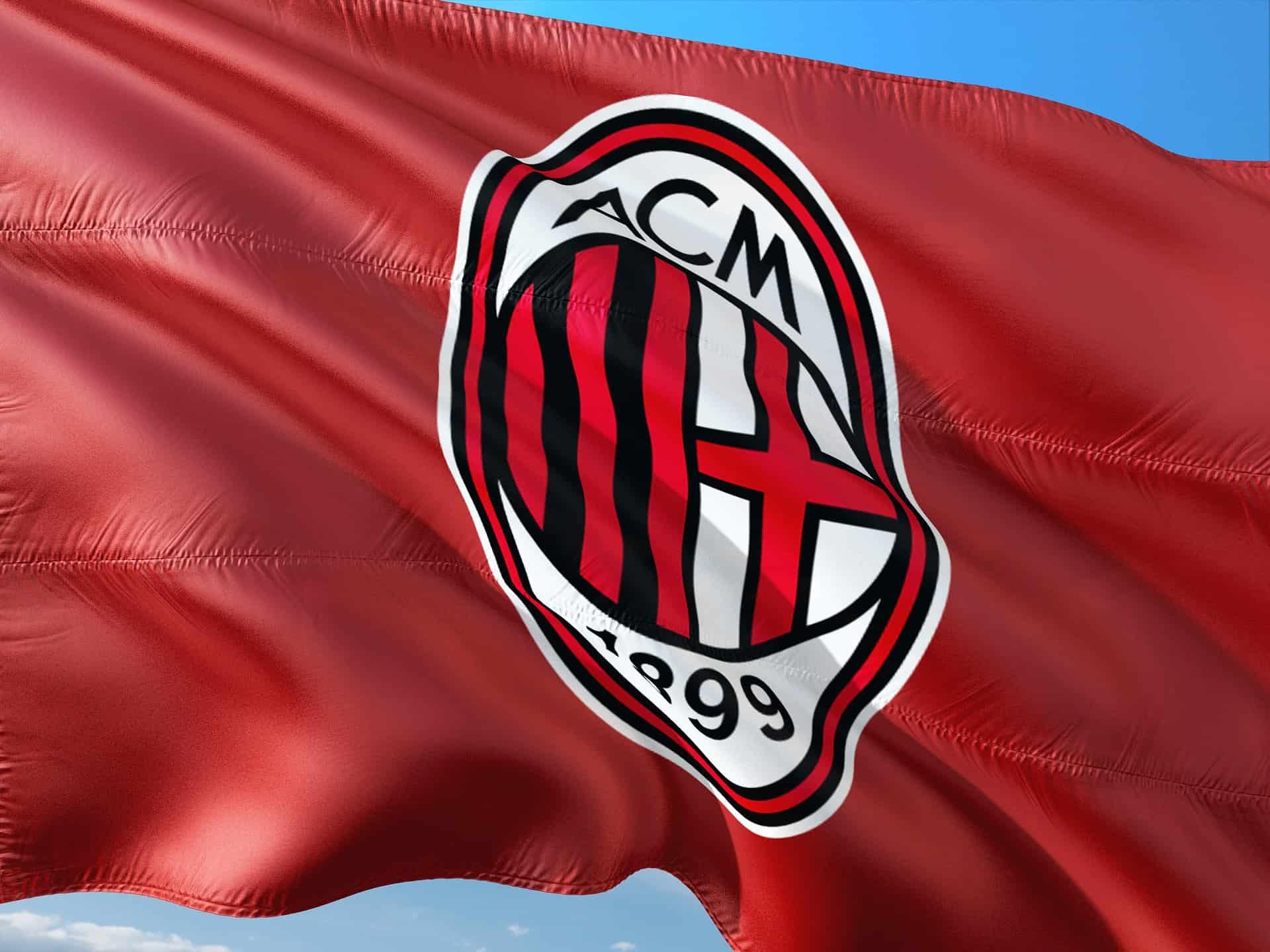 A.C. Milan Football Club Flag