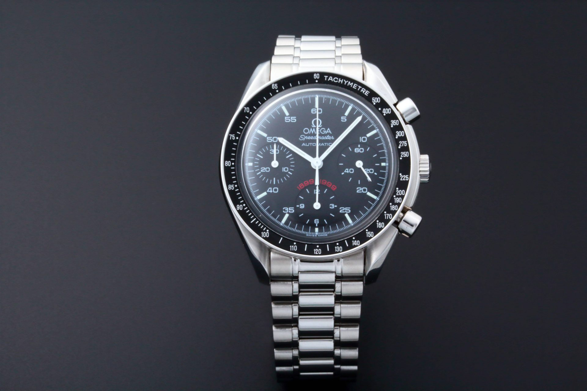 Omega Speedmaster A.C. Milan Football Edition 3510.51 Limited To 1999 Pieces