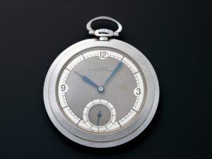 Lot #6606 – Vintage Rolex Open Face Pocket Watch Pocket Watches Rolex Pocket Watch
