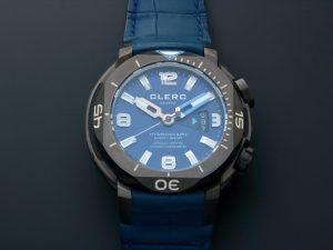 Lot #6609 – Clerc H1-4B Hydroscaph H1 Watch Clerc Clerc H1-4B
