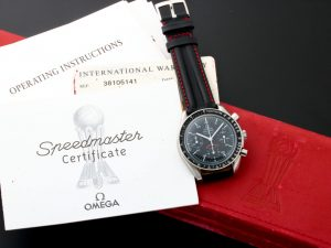 Lot #6610 – Limited Edition Omega Speedmaster A.C. Milan Watch 3810.51.41 3810.51.41 Omega 3510.51.00