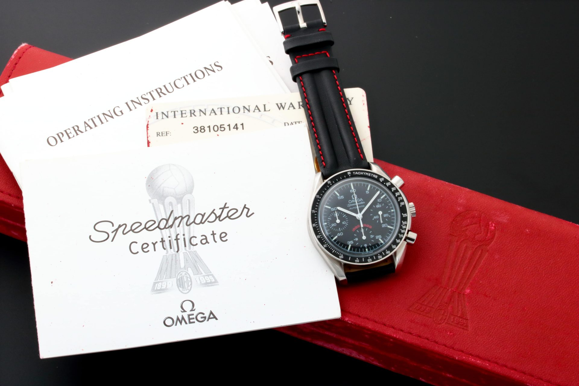 6610 Omega 3810.51.41 Speedmaster A.c. Milan Limited Edition Watch Baer & Bosch Watch Auction