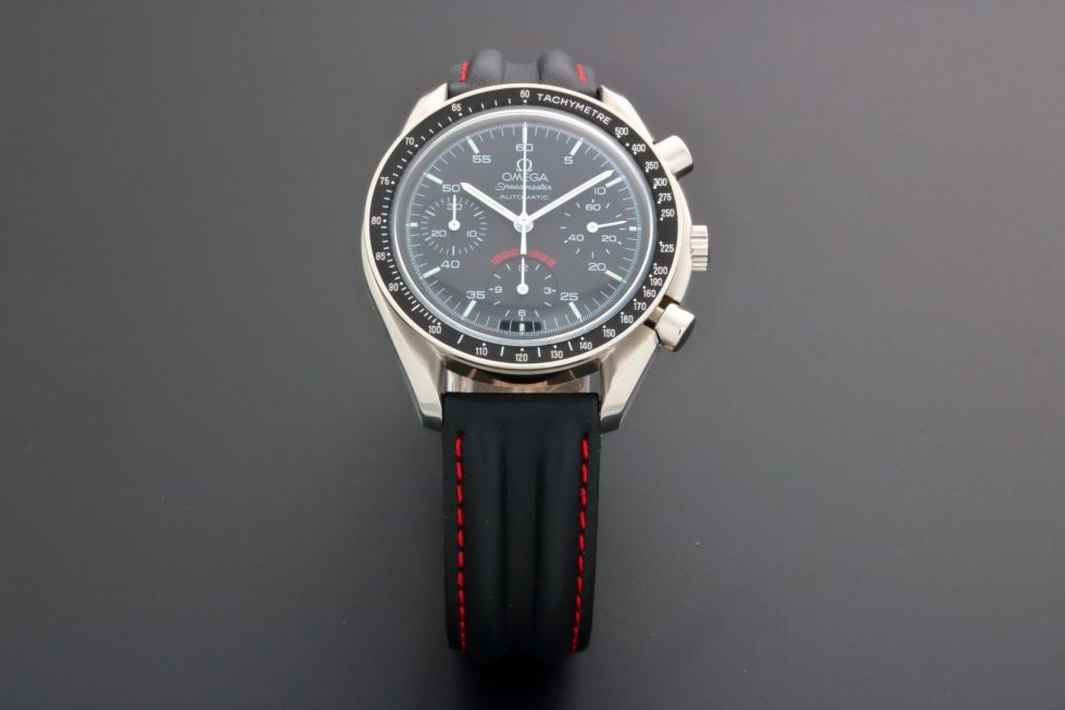 Lot #9634 – Limited Edition Omega Speedmaster A.C. Milan Watch 3810.51.41 3810.51.41 Omega 3510.51.00