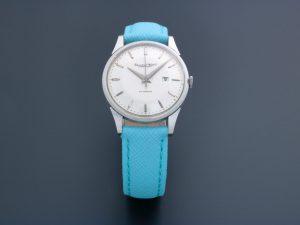 Lot #6614 – Rare IWC Date Platinum Watch IWC International Watch Co
