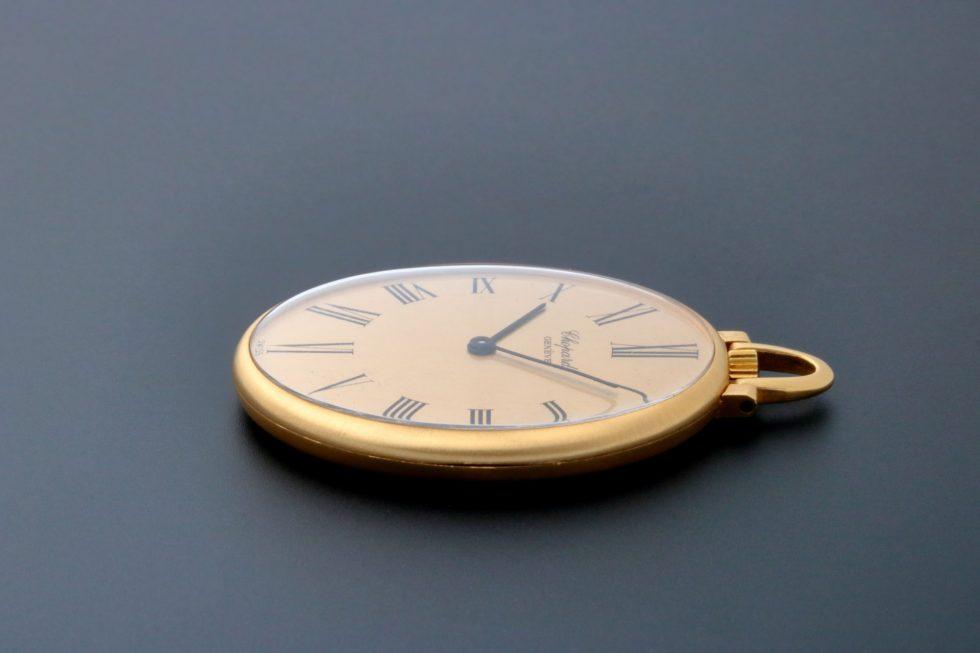 Lot #7594 – Chopard 3016 Pocket Watch 18K Yellow Gold 3016 Chopard 3016