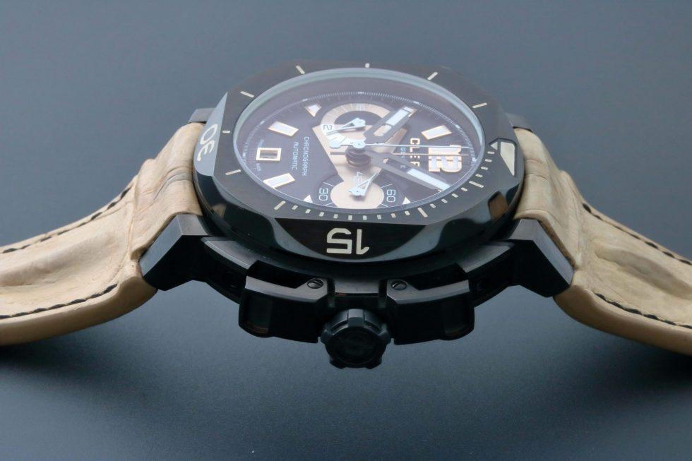Lot #6639 – Clerc CHY-2 Hydroscaph Chronograph Watch Limited Edition CHY-2 Clerc CHY-2