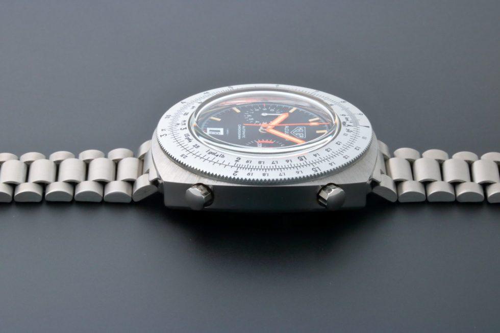 Lot #6643 – Heuer 110.633 Calculator Chronograph Watch 110.633 Chronograph