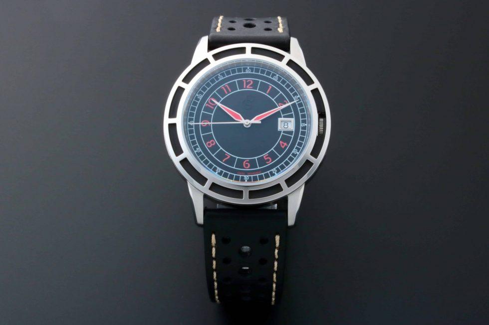 Lot #6650 – Pierre Gaston Date Roulette Style Dial Watch Pierre Gaston Pierre Gaston