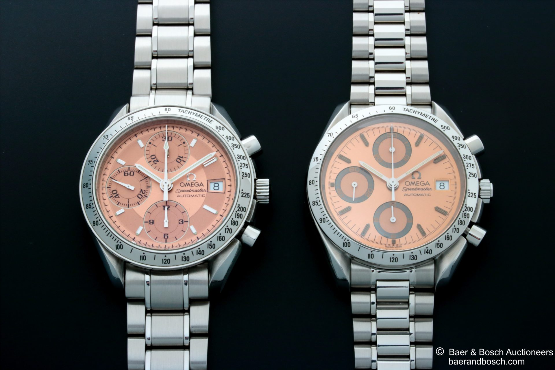 Omega Speedmaster 3513.60 vs Omega Speedmaster 3511.60 - - Baer & Bosch Collecting Times