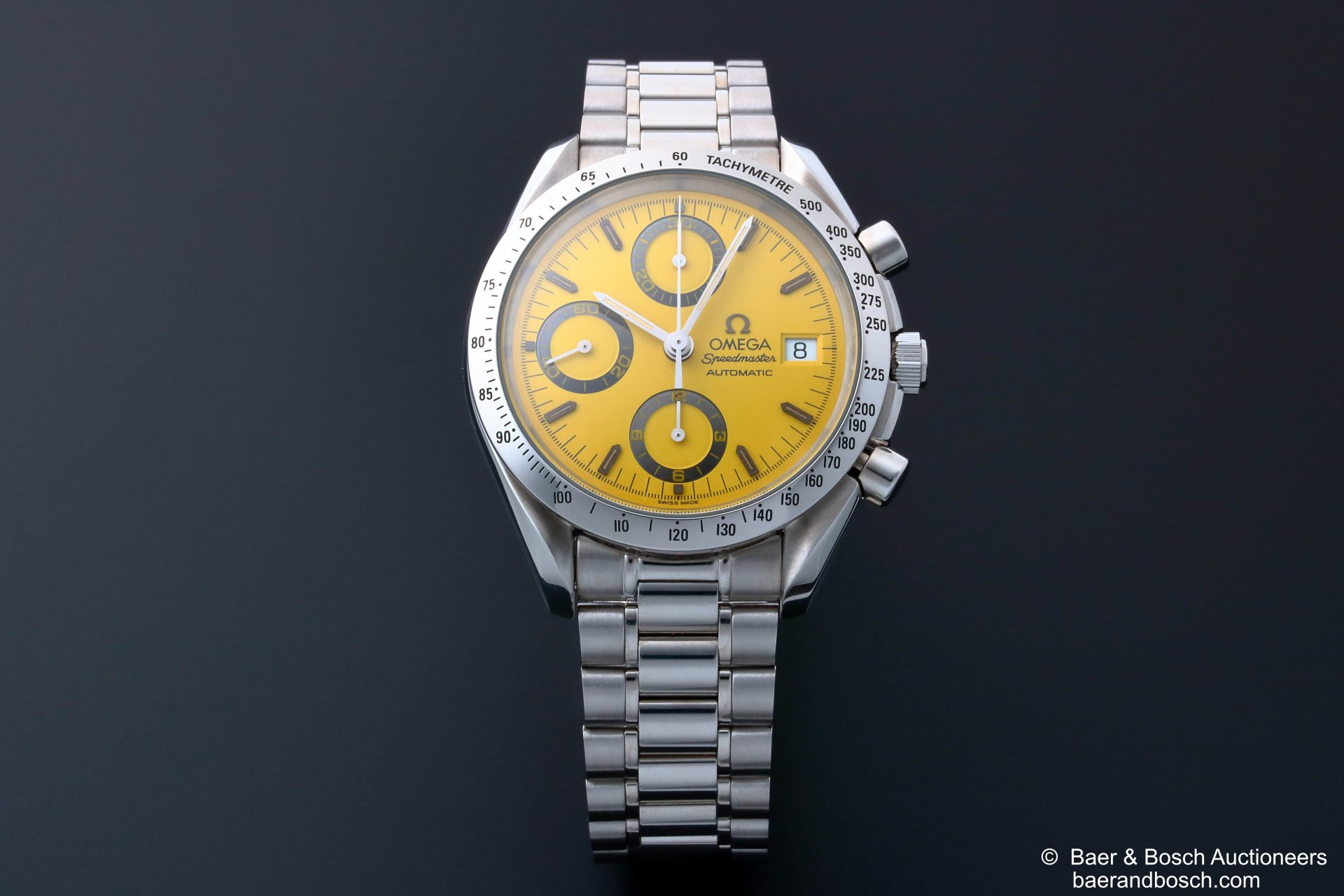 Omega Speedmaster Yellow Dial Watch 3511.12 - Baer & Bosch Collecting Times