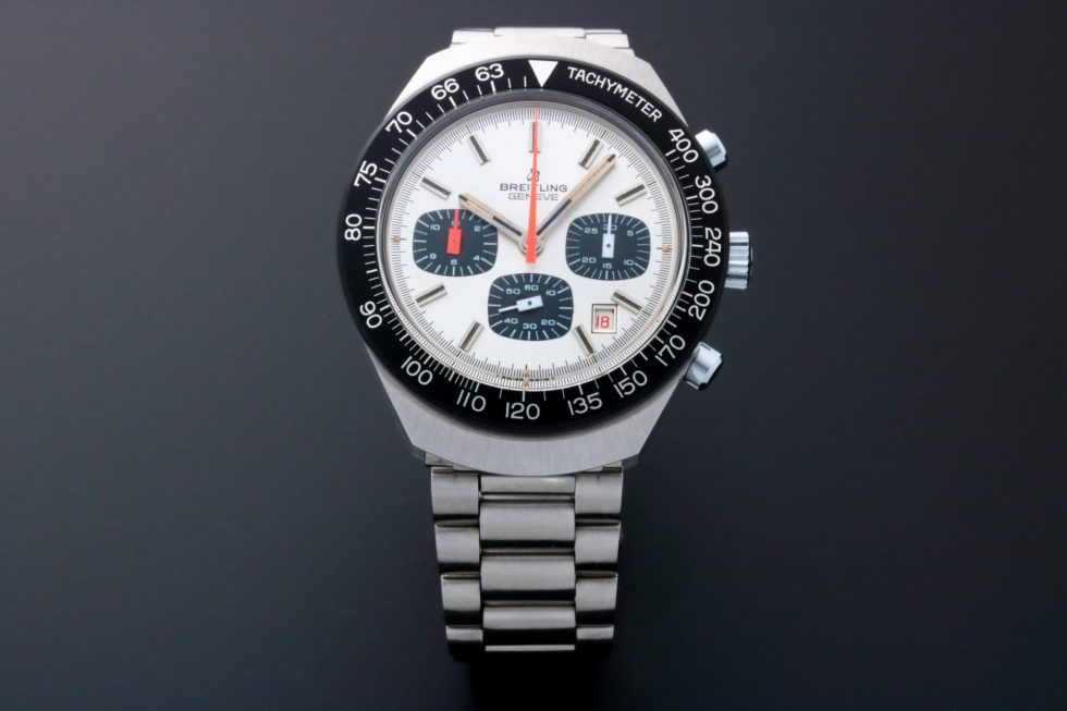 Lot #7782 – Vintage Breitling 7104 Long Playing Chronograph Watch 7104 Breitling 7104