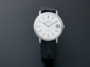 Lot #8929 – Universal Geneve White Shadow Date Vintage NOS Watch Rare Universal Geneve Universal Geneve