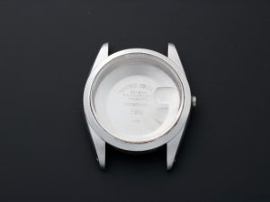 Lot #8925 – Rolex 1500 Oyster Perpetual Date Stainless Steel Watch Case 1500 Rolex Date 1500 Watch Case