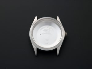 Lot #8906 – Rolex Air-King 5500 Vintage Stainless Steel Watch Case 5500 Rolex Air-King Watch Case