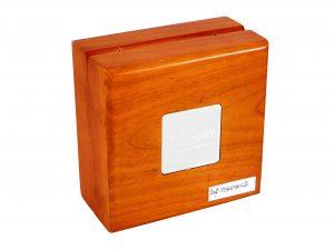 Lot #8937 – Pequignet Wood Watch Box Pequignet Pequignet