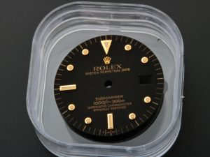 Lot #8962 – Rolex Submariner T Swiss T Nipple Watch Dial 16808 16808 Rolex 16808 Dial