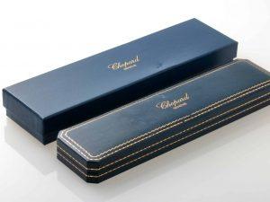 Lot #8928 – Chopard Leather Watch Box Vintage Chopard Chopard Watch Box