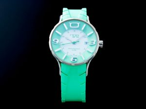 Lot #6562A – NOA IR003 Iris Watch Green NOA NOA Iris IRISARM023