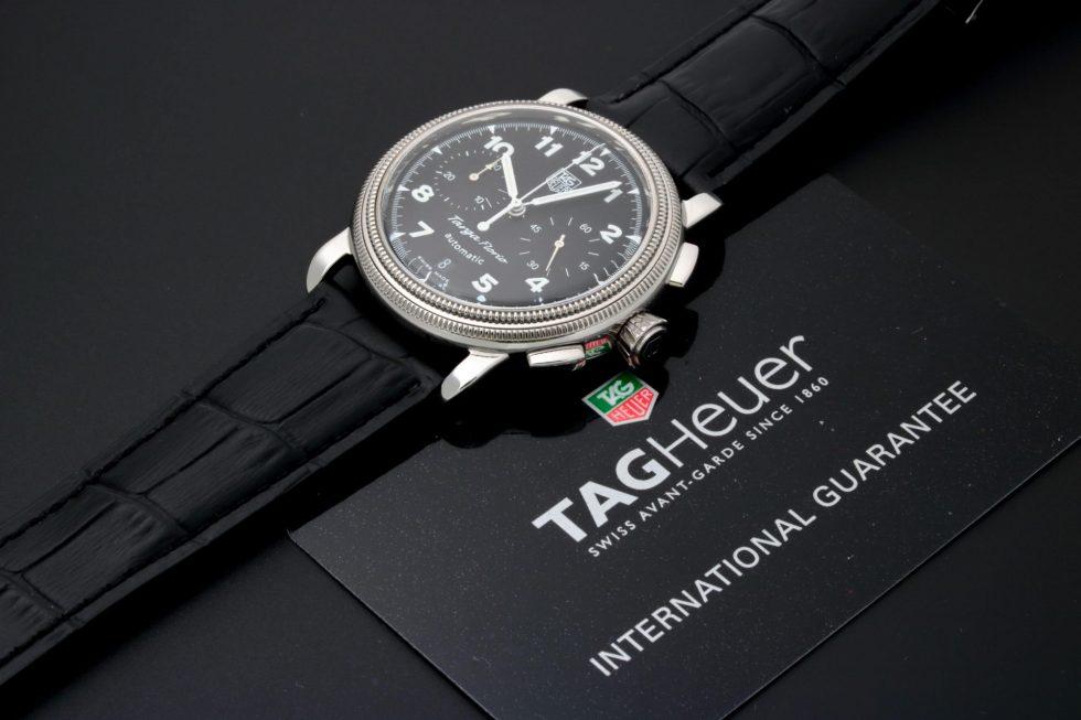 Lot #9618 – Tag Heuer CX2110 Targa Florio Chronograph Watch CX2110 Chronograph