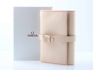 Lot #6727 – Omega Leather Watch Roll with Box Rarities Omega