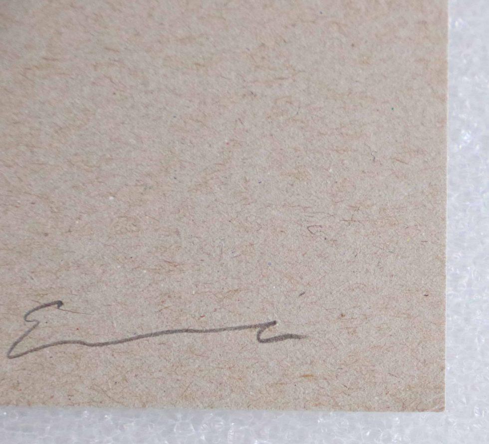 Lot #9522 – Cote Escriva Screen Print Limited Edition of 70 Art Cote Escriva