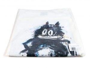 Lot #7154 – Joyce Pensato Felix T-Shirt XL White Joyce Pensato Joyce Pensato