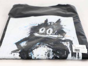 Lot #9862 – Joyce Pensato Felix T-Shirt XL Black Joyce Pensato Joyce Pensato