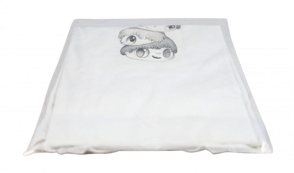 Lot #8705 – Javier Calleja T-Shirt White Size XL Javier Calleja Javier Calleja