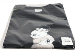 Lot #9879 – Javier Calleja T-Shirt Black Size XL Javier Calleja Javier Calleja