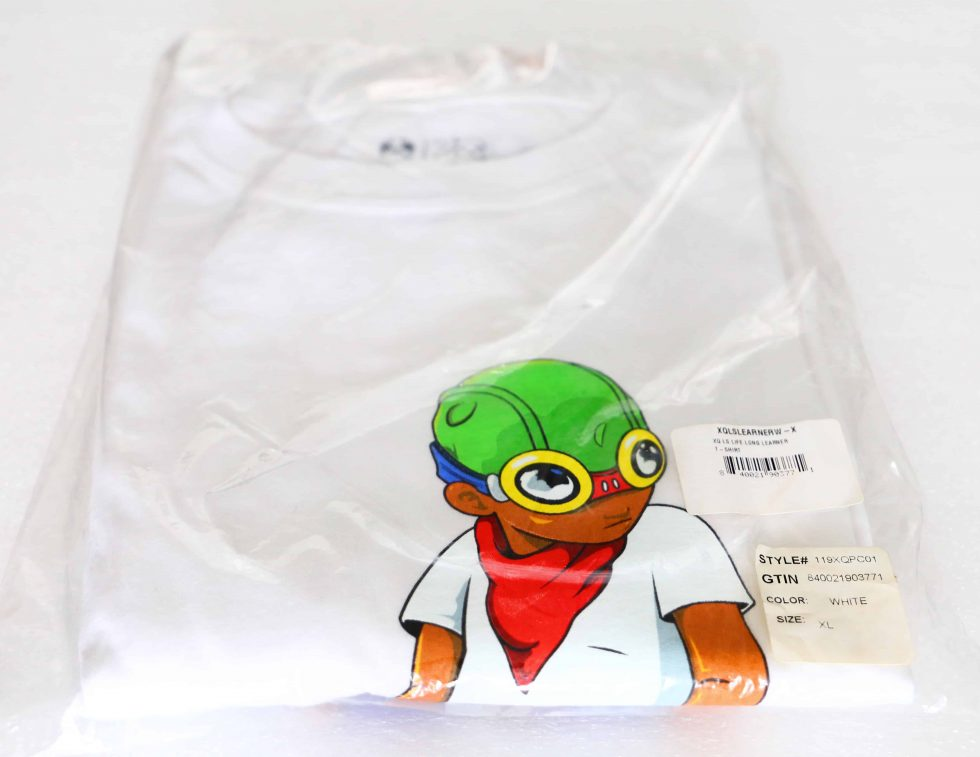 7223a Hebru Brantley Flyboy Long Sleeve Shirt White Xl