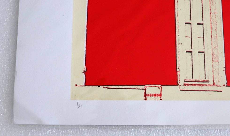 Lot #9543 – Jake & Dinos Chapman California Uber-Alles Screen Print (Time for Outrage) Art Chapman Brothers Screen Print