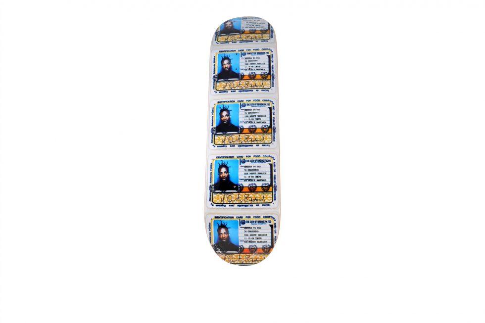 Lot #7301 – Supreme Ol' Dirty Bastard Skateboard Skate Deck Skateboard Decks [tag]