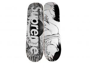 Lot #9701 – Akira x Supreme Skateboard 2 Deck Set Akira Deck Set