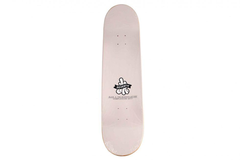 Lot #9761– OG Slick x ComplexCon Skateboard Skate Deck Skateboard Decks [tag]