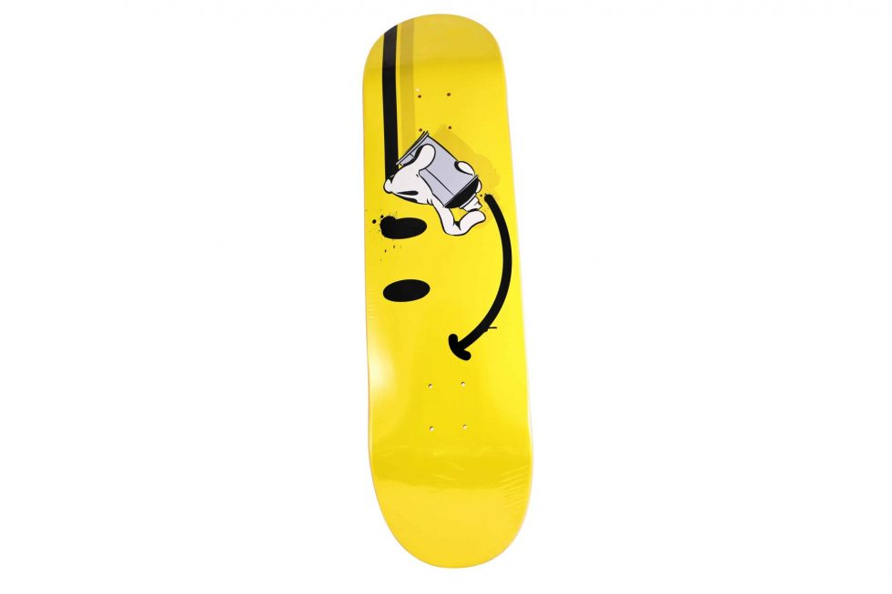 Og Slick X The Seventh Letter X Complexcon Smile Skateboard Deck