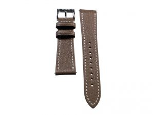 Lot #6405B – Tokki Project Etesian Vulcan Gray Sheep Skin Watch Strap 22MM 22mm Straps [tag]