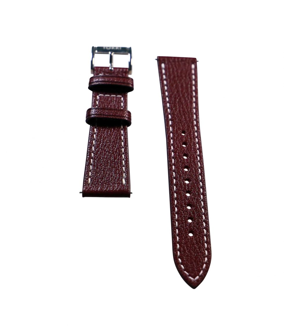 Lot #6405D – Tokki Project Etesian Bacchus Wine Sheep Skin 22MM 22mm Straps [tag]