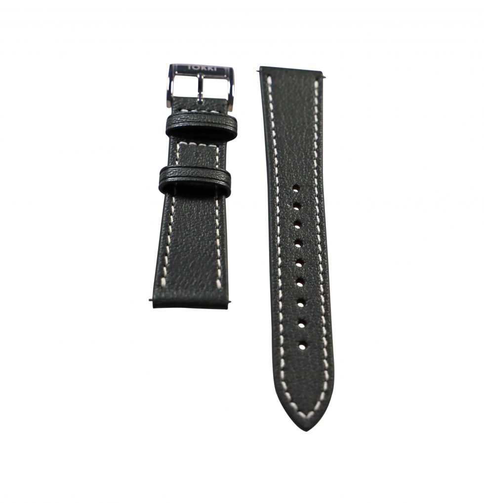 Lot #6406 – Tokki Project Demeter Green Sheep Skin Watch Strap 22MM 22mm Straps [tag]