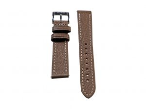 Lot #6410 -Tokki Project Etesian Vulcan Gray Sheep Skin Watch Strap 18MM 18mm Straps [tag]