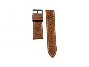 Lot #6412 -Tokki Project Harmattan Signature Distressed Leather Watch Strap 22MM 18mm Straps [tag]