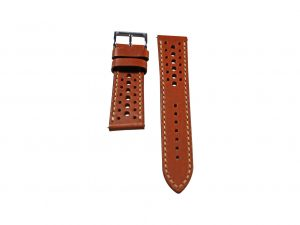 Lot #6413 -Tokki Project Harmattan Sandy Brown Leather Watch Strap 22MM 18mm Straps [tag]